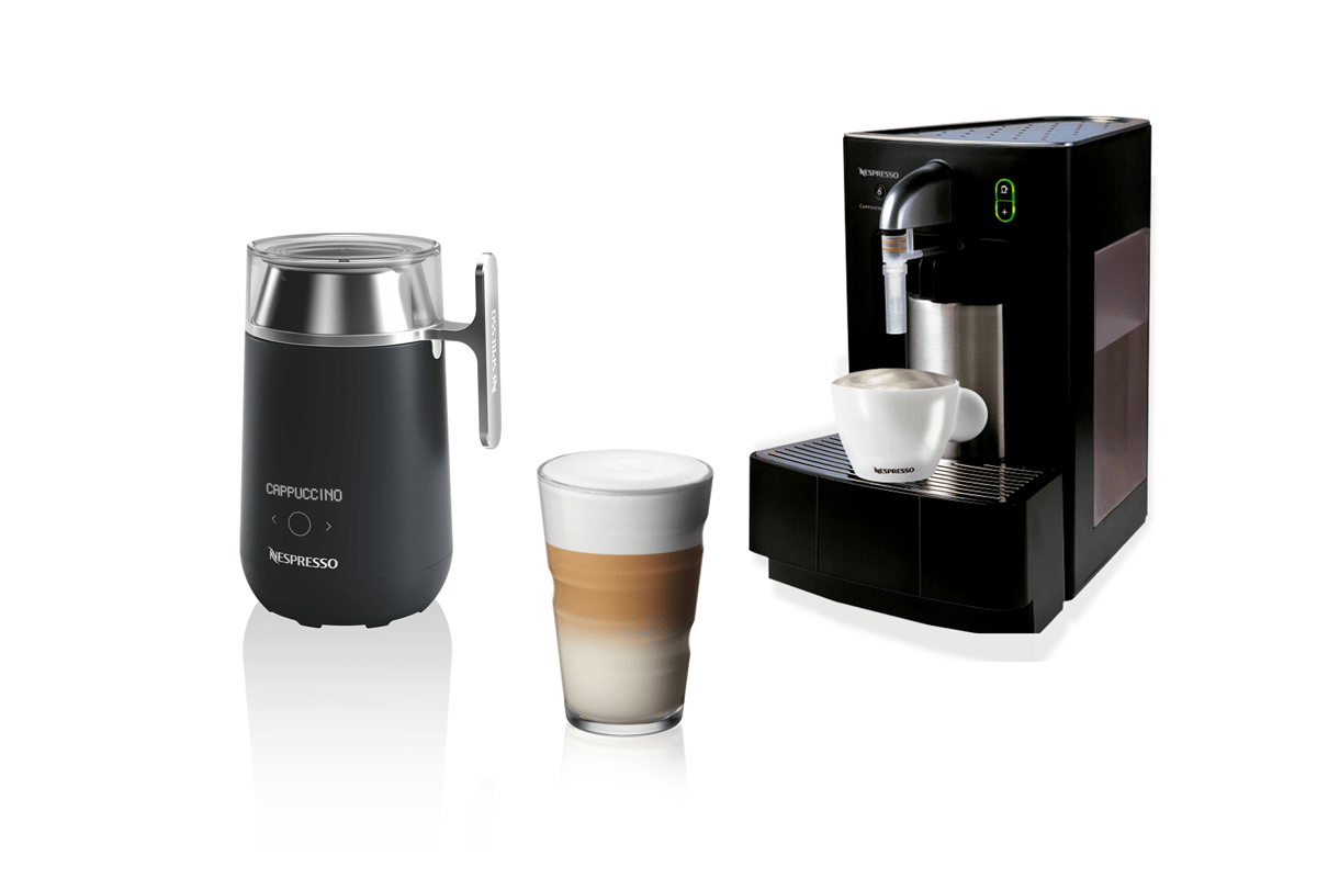 Professional milk steamers and accessories that will allow you to make perfect Macchiatos, Cappuccinos and Lattes - at a touch of a button.