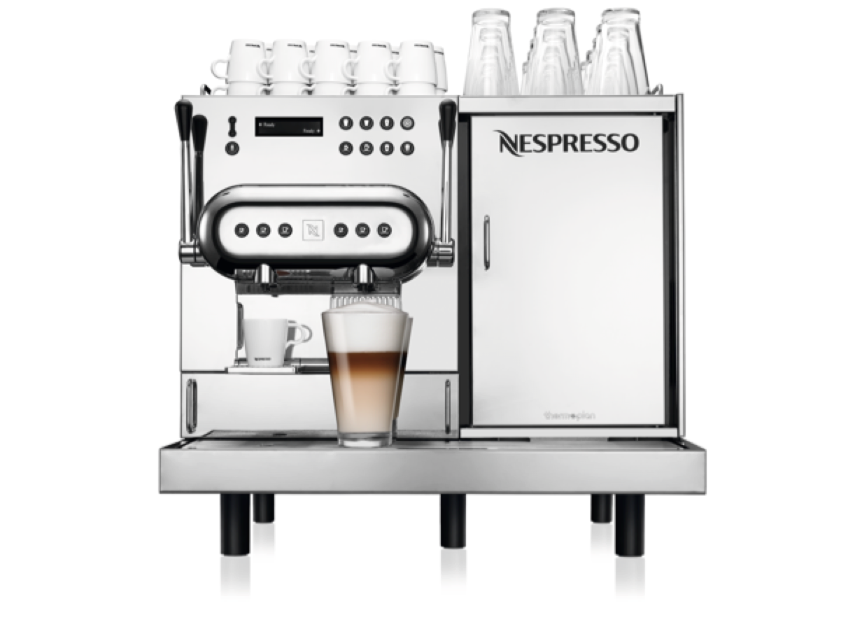 Aguila 220 coffee machines for bar, restaurant and conference - Nespresso Professional