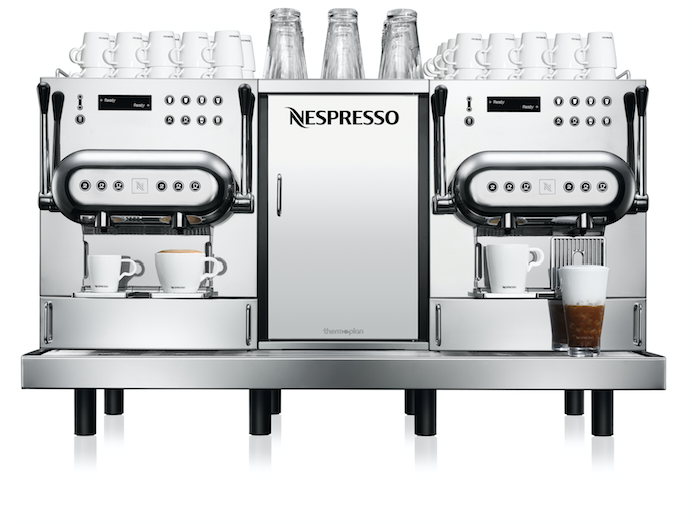 Aguila 420 coffee machines for restaurants, breakfast and conference centers - Nespresso Professional