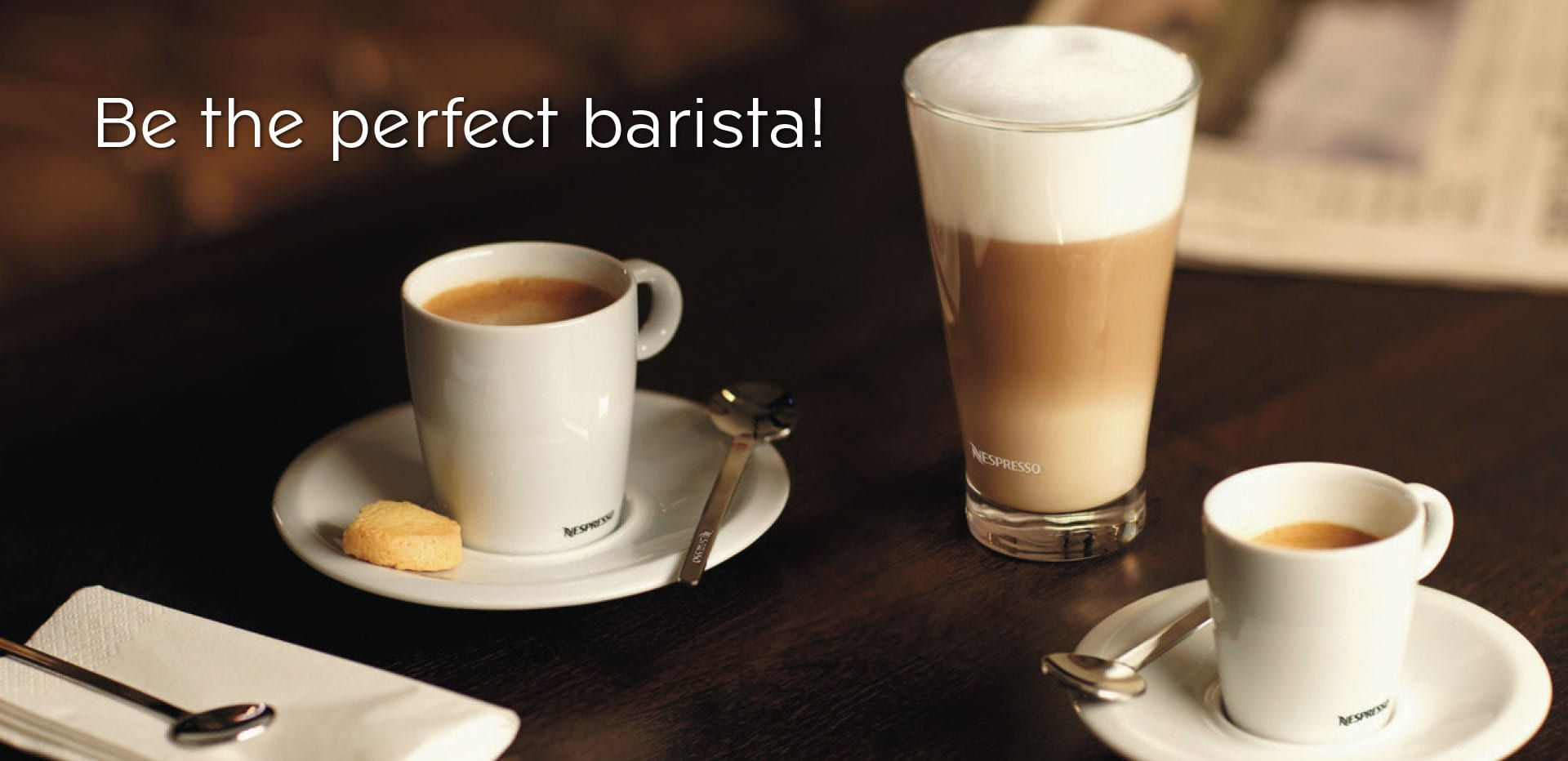 Nespresso Professional - Be the perfect barista