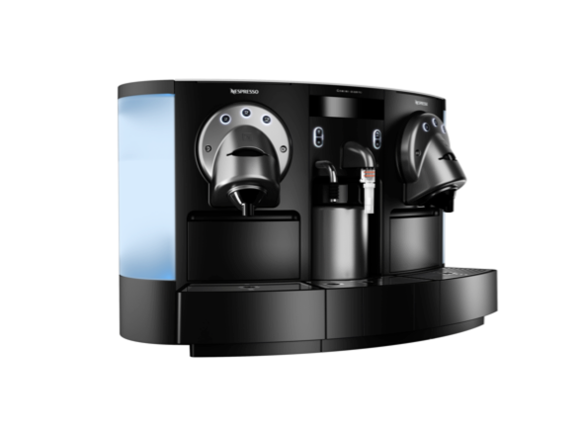 Gemini coffee machines for lobbys and meeting rooms - Nespresso Professional