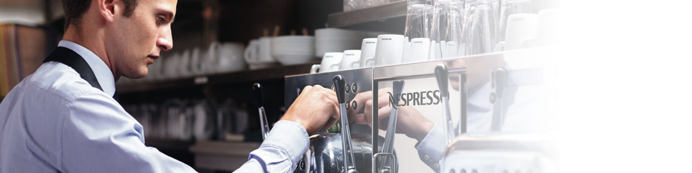Coffee machines for businesses - Nespresso Professional