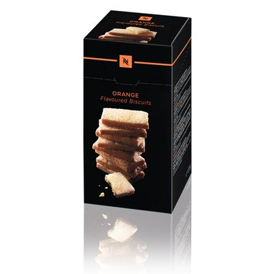 Orange flavored biscuits by Nespresso Professional
