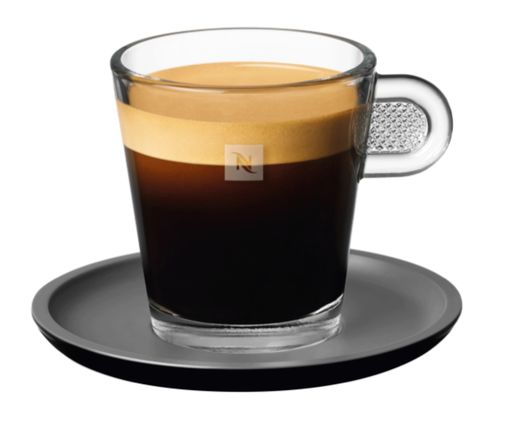 Lungo Leggero glass cup - serving inspiration by Nespresso Professional